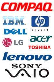 Service for Laptop brands